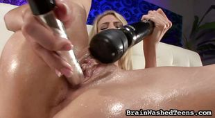 Swingeing Amanda Tate is eager to drool on a donga